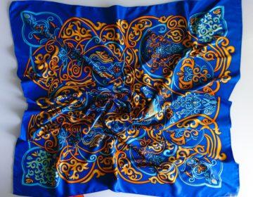Знаменитые платки-каре Hermés отпраздновали юбилей