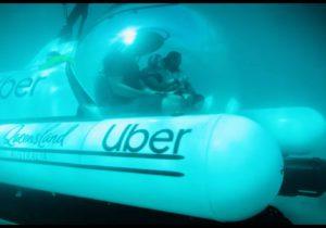 UBER запустил подводное такси в Австралии